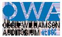 Odell Williamson Auditorium logo